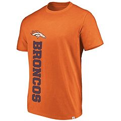 Men's Denver Broncos Flex Vertical Wordmark Tee