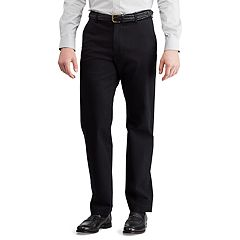 Men's Chaps Straight-Fit Stretch Twill Flat-Front Pants