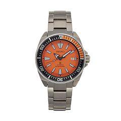 Seiko Men's Prospex Samurai Stainless Steel Automatic Dive Watch - SRPC07