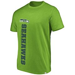 Men's Seattle Seahawks Flex Vertical Wordmark Tee