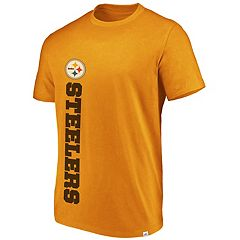 Men's Pittsburgh Steelers Flex Vertical Wordmark Tee
