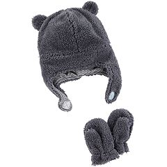 Baby Carter's Sherpa Hat & Mittens Set