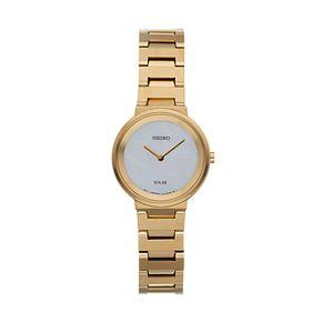 Seiko Women's Stainless Steel Solar Watch - SUP386