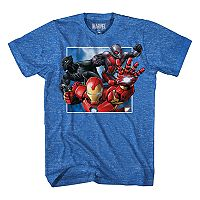 Boys 8-20 Marvel Comics Iron Man Trio Tee