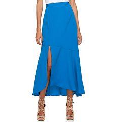 Women's Jennifer Lopez Front Slit Yoryu Maxi Skirt
