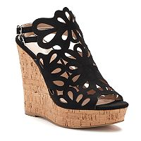 Style Charles by Charles David Alaiah Women's Cutout Wedge Sandals