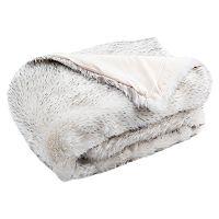 Safavieh Dalmation Tips Faux Fur Throw