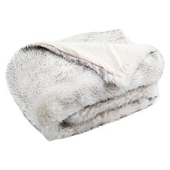 Safavieh Dalmation Tips Faux Fur Throw