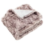 Safavieh Chinchilla I Faux Fur Throw