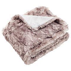 Safavieh Chinchilla I Faux Fur Throw