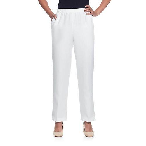 7326bcd90b5 Women s Alfred Dunner Studio Pull-On Pants