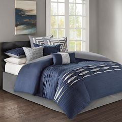 N Natori Nara Cotton Sateen 4-piece Comforter Set
