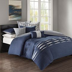N Natori Nara Cotton Sateen 3-piece Duvet Cover Set