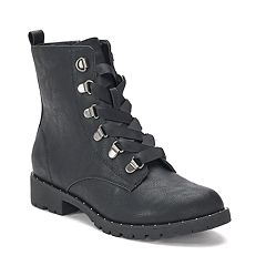 SO® Sugarmaple Women's Combat Boots