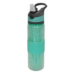 Wellness 18-oz. Freezer Gel Beaded Water Bottle with Straw