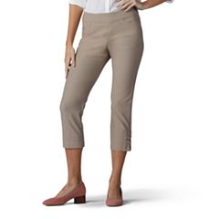 Women's Lee Elena Twill Pull-On Capris