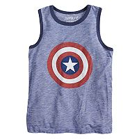 Boys 4-10 Jumping Beans® Marvel Captain America Shield &