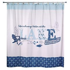Avanti Lake Life Shower Curtain