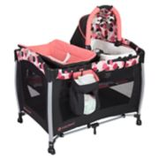 Baby Trend Resort Elite Nursery Center Playard - Dotty Pink