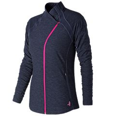 Women's New Balance Pink Ribbon Anticipate Jacket