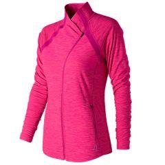 Women's New Balance Pink Ribbon Anticipate Jacket