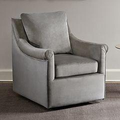 Madison Park Morton Swivel Arm Chair