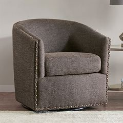 Madison Park Tyler Swivel Arm Chair