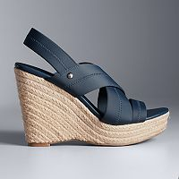 Simply Vera Vera Wang Gratitude Women's Espadrille Wedge Sandals