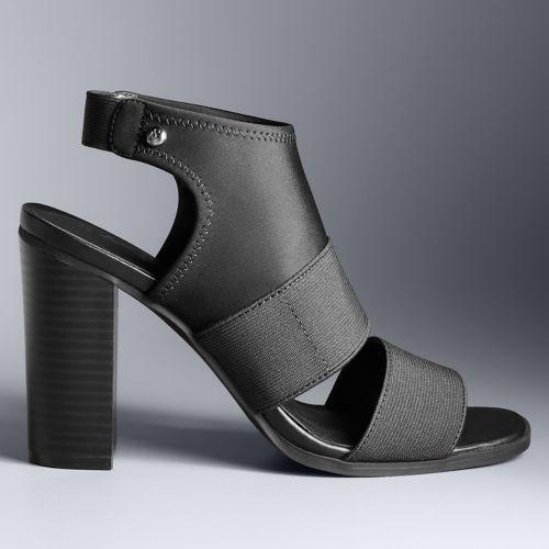 Simply Vera Vera Wang Candle ... Women's High Heel Sandals