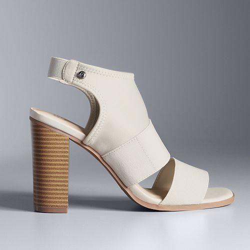 05484763db5 Simply Vera Vera Wang Candle Women s High Heel Sandals