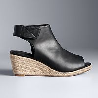 Simply Vera Vera Wang Moscow Women's Espadrille Wedge Sandals