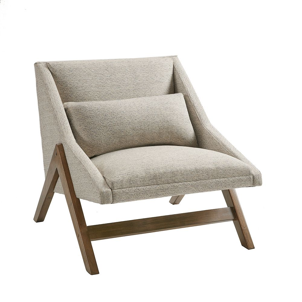 INK+IVY Boomerang Lounger Accent Chair