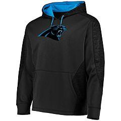 Men's Majestic Carolina Panthers Armor Hoodie