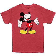 Boys 8-20 Disney Mickey Mouse Laughing Tee