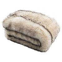 Safavieh Coco Tips Faux Fur Throw