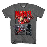 Boys 8-20 Marvel Comics Iron Man Hi-Five Tee