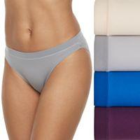 Women's Fruit of the Loom 4-pack Signature Everlight Bikini Panties 4DELSBK