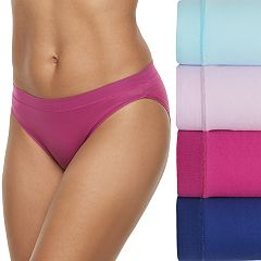 Women's Fruit of the Loom 4-pack Signature Everlight Bikini Panties 4DELSBK
