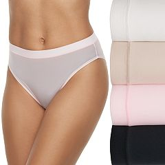 Women's Fruit of the Loom 4-pack Signature Everlight Hi Cut Panty 4DELSHC