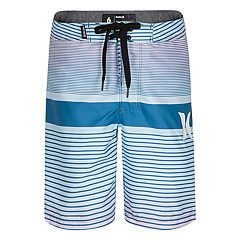 Boys 4-7 Hurley Line Up Striped Board Shorts