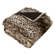 Safavieh Leopardis Faux Fur Throw