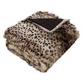 Safavieh Leopardis Faux Fur Throw