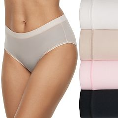 Women's Fruit of the Loom 4-pack Signature Everlight Low Rise Brief Panty 4DELSLR