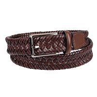 Men's Dockers® Leather Stretch Braid Belt