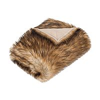 Safavieh Racoon Faux Fur Throw