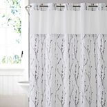Hookless Cherry Bloom Shower Curtain & Liner