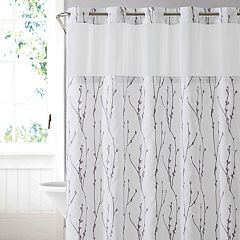 Hookless Cherry Bloom Shower Curtain Liner