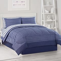 The Big One® Navy Carter Bedding Set