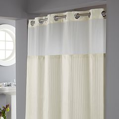 Hookless Classic Herringbone Shower Curtain & Liner