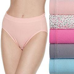 Women's Fruit of the Loom 5-pack Cotton-Blend Stretch Hi Cut Panty 5DCSSHC